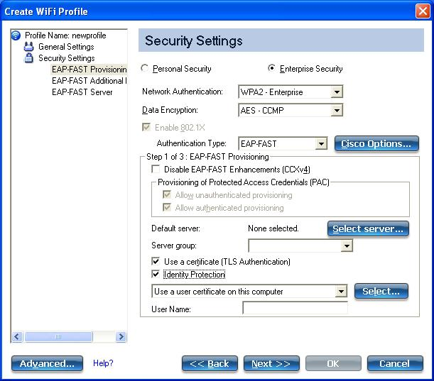 Validating identity wireless xp wpa2 patch